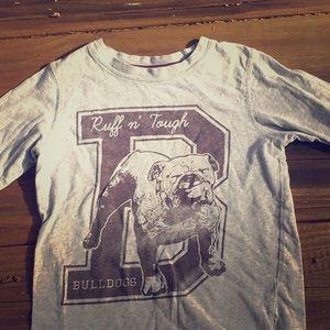 Carter's Ruff n' tuff bulldogs long sleeve shirt